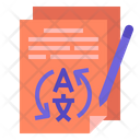 Translationservice Language Translate Icon