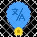 Translator location Icon