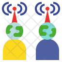 Transmissible Connect Wireless Icon