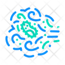 Transmission Bacteria Air Icon