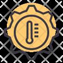 Transmission Temprature Warning Icon