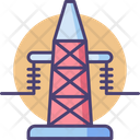 Transmission Tower Cell Tower Receiver Icon