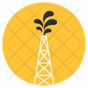 Transmission Tower Electric Tower Current Tower Icon