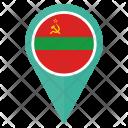 Transnistria Flag Icon