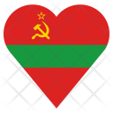 Transnistria Flag Country Icon