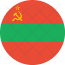 Transnistria Flag World Icon