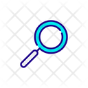 Transparency Magnification Magnifying Glass Icon