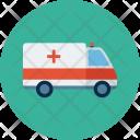 Transport Vehicle Medical Icon