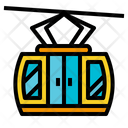 Transport Cable Car Cabin Icon