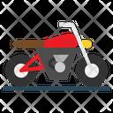 Transport Motorbike Motorcycle Icon