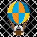 Transport Air Balloon Air Icon