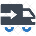 Transport Truck Delivery Icon