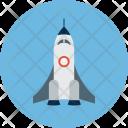 Transport Rocket Education Icon