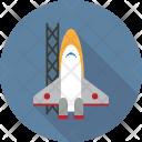 Transport Rocket Transportation Icon