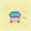 Transport Bus Coach Icon