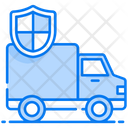 Transport Insurance Insurance Carrier Cargo Safety Icon