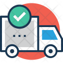 Delivery Confirmation Truck Icon