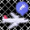 Transport Vaccine Icon