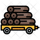 Transportation Wooden Log Icon