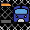 Transportation Airport Station Icon