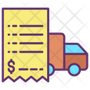 Transportation Bill Icon