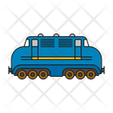 Diesel Railway Locomotive Icon