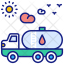 Transportation Fuel Icon