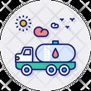 Transportation Fuel Fuel Heavy Icon