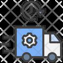 Transportation Management System Tms Transport Vehicle Icon