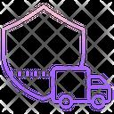 Transportation Insurance Transportation Protection Secure Transportation Icon