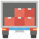 Transportation Truck Delivery Moving Truck Icon