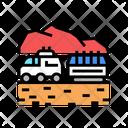 Transportation Truck Transportation Wheel Icon