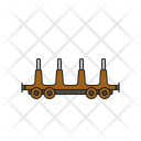 Railway freight car Icon