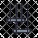 Trapeze Acrobatics Circus Icon