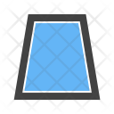 Trapezium Shape Icon