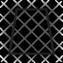 Trapezium Icon
