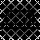 Corner Mathematics Formula Icon