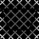 Trapezoid Shape Geometry Icon