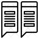 Trapezoid List Icon