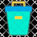 Trash Box Bin Recycle Bin Icon