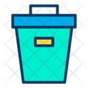 Trash Box Bin Recycle Bin Icon