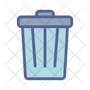 Can Waste Garbage Icon