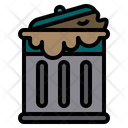 Trash Bin Garbage Icon