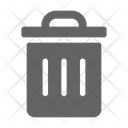 Trash Can Garbage Icon