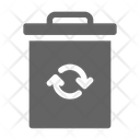 Trash Recycle Eco Icon