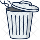 Trash Can Dust Icon