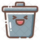 Trash Garbage Bin Icon