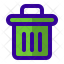 Trash Cleas Bin Icon