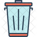 Trash Dustbin Garbage Icon