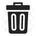 Trash Delete Recycle Bin Icon